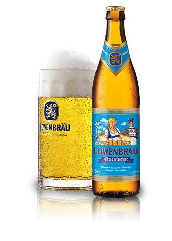 """Löwenbräu bière Oktoberfest 50cl. Spécialité très populaire de bière d'Oktoberfest à Munich. Savoureuse, épicé et d'après la tradition classique de la brasserie Bavaroise. Une vraie Löwenbräu ! Chaque année, à l'automne et depuis plus de 200 ans, Löwenbräu sert cette fameuse bière à des millions de visiteurs de l'Oktoberfest à Munich, le plus grand festival folklorique du monde """"O'zapft is""""."""