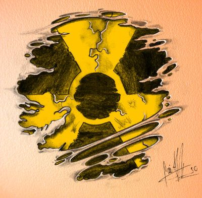 radiation symbol Tattoos   tattoo medical deviantart plastic for uplog symbol amazon tattoo ...