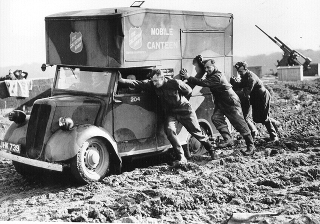 Salvation Army in service in Europe-- WW2 by The Salvation Army BC Division, via Flickr
