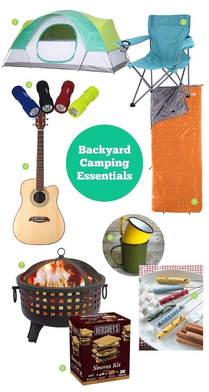 Whether you're easing into camping or don't like to stray too far from the comforts of home, here are 9 essentials for camping in your backyard.