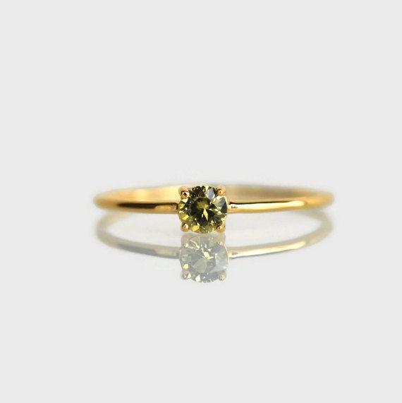 delicato anello, anelli sottili dainty, dainty anelli per le donne, anello d