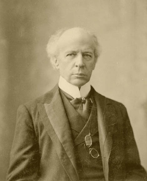 "Hon. Sir Wilfred Laurier....8th Prime Minister of Canada and the First French Canadian Prime Minister from 1896 to 1911....While in office: Manitoba Schools Question; Boer War; Alberta and Saskatchewan created; Creation of the Royal Canadian Navy; Reciprocity with the US; Department of External Affairs established; removed the right of status Indians to vote......Famous quote, ""As the 19th century was that of the United States, so I think the 20th century shall be filled by Canada."""