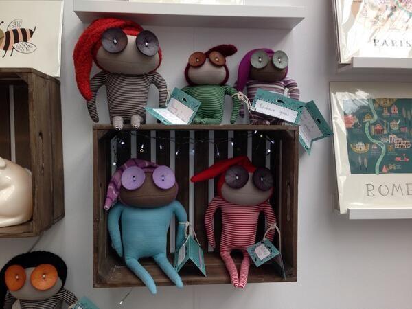 Ruby Ruth dolls at Eliza Wray