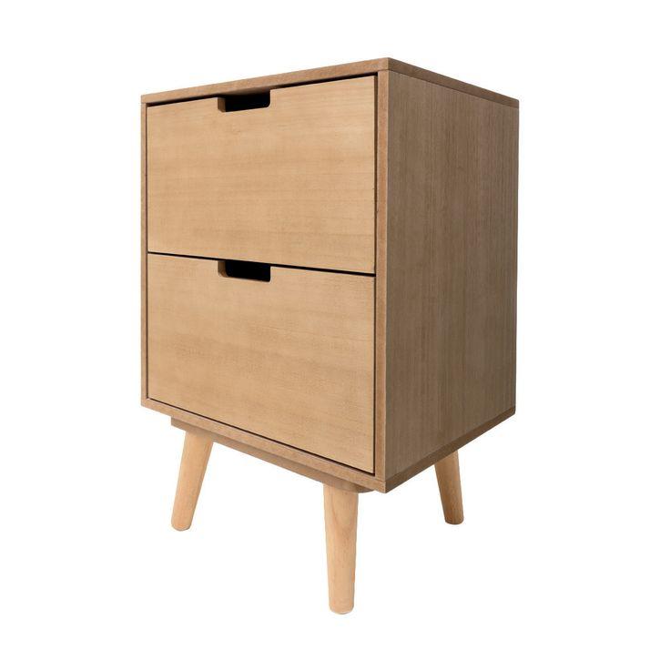 2 Drawer Side Unit | Kmart