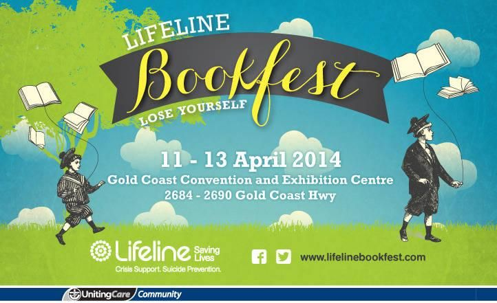 A great way to lose yourself for a few hours, save heaps of $ and help Lifeline. Lifeline Bookfest Gold Coast - April 11-13.