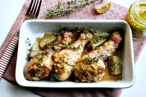 poulet-moutarde-thym