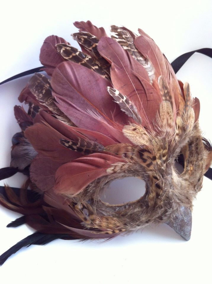 Brown Tree Owl - Specialty Custom Animal Masks by MaskedEnchantment on Etsy https://www.etsy.com/listing/167486336/brown-tree-owl-specialty-custom-animal