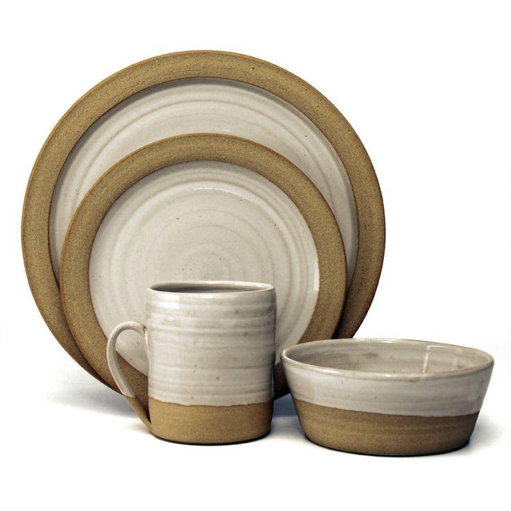 Farmhouse Pottery Two Tone Serve Ware Kitchen Prep