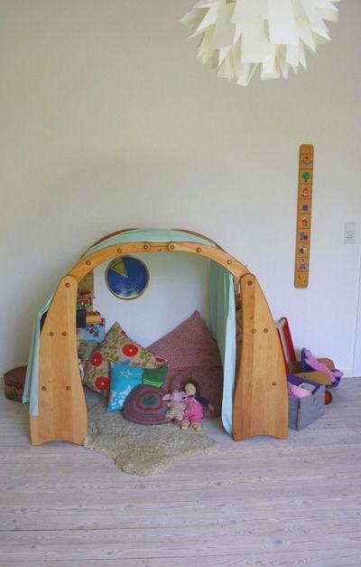 Kuschelhöhle kinderzimmer selber bauen  93 besten Kiga-Raumgestaltung Bilder auf Pinterest ...