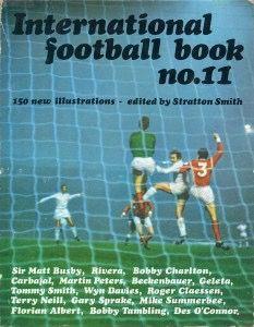 International Football Book No. 11 in 1966 featuring Man Utd v Leeds Utd on the cover.