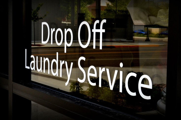 Drop Off Laundry Service = Time Saver