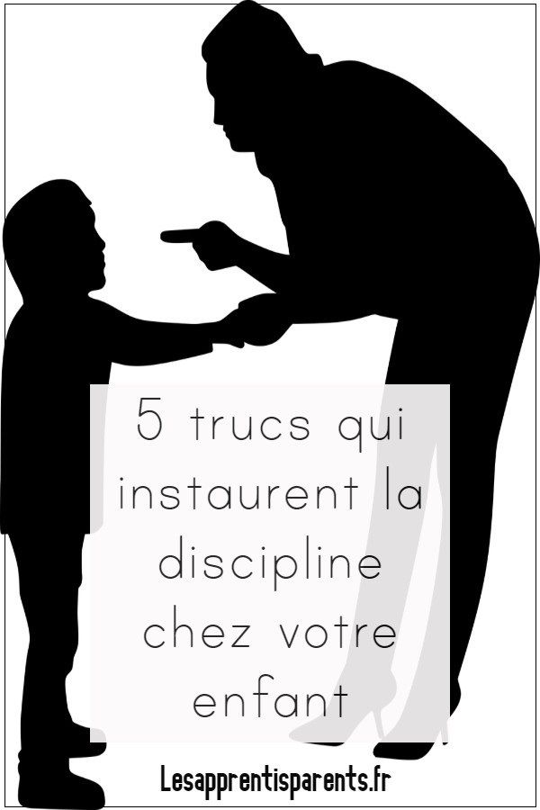 5 tips that instill discipline in your child