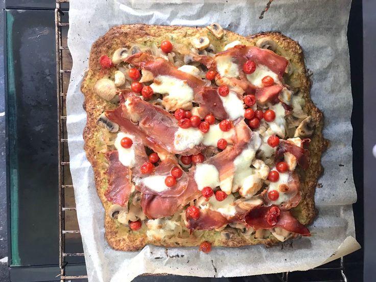 Komende 1,5 week staan er maar liefst 3 wedstrijden op het programma: de Diamond League in Rome (8 juni) de FBK games in Hengelo (11 juni) en op mijn verjaardag, 15 juni, de Diamond league in Oslo.Zeker in deze periode van veel wedstrijden let ik extra op mijn voeding. Afgelopen week heb ik deze low carb pizza gemaakt als lunch en dat was een succes! Deze pizza van broccoli is koolhydraatarm en bevatveel vezels,vitamines en mineralen, zoals vitamine C, ijzer, foliumzuur, magnesium en…
