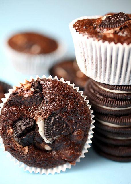 oreo cupcakesCake Recipe, Cookies, Roads Cupcakes, Cream Cupcakes, Cupcakes Recipe, Chocolates Cupcakes, Rocky Roads, Sweets Tooth, Oreo Cupcakes