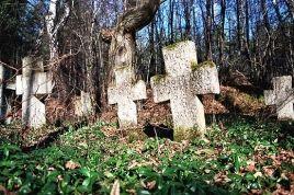 Stare Brusno - najstarsze krzyże. Roztocze
