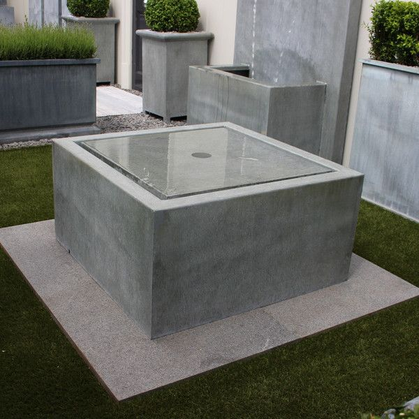 Qube Water Feature