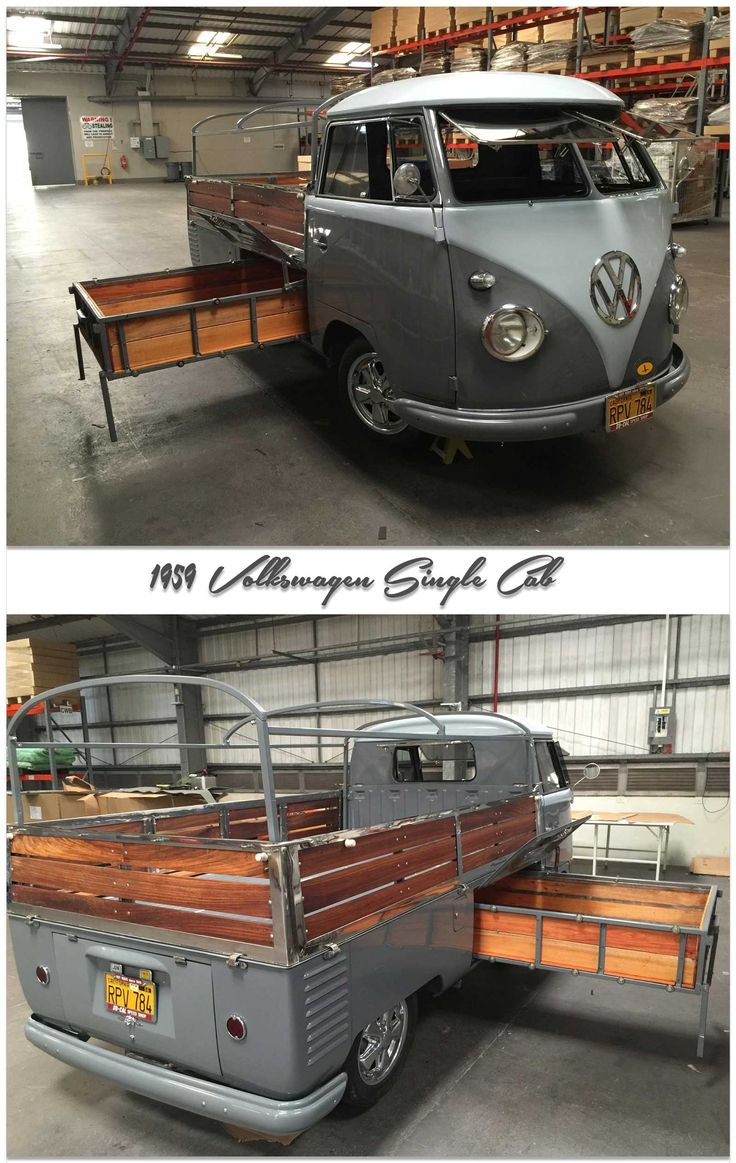 1959 Volkswagen Single Cab ◉ re-pinned by http://www.waterfront-properties.com/jupiteradmiralscove.php