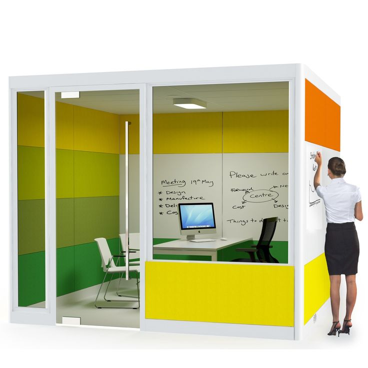 Rooms: Spacio Meeting Pods Are Acoustic Office Room Solutions For