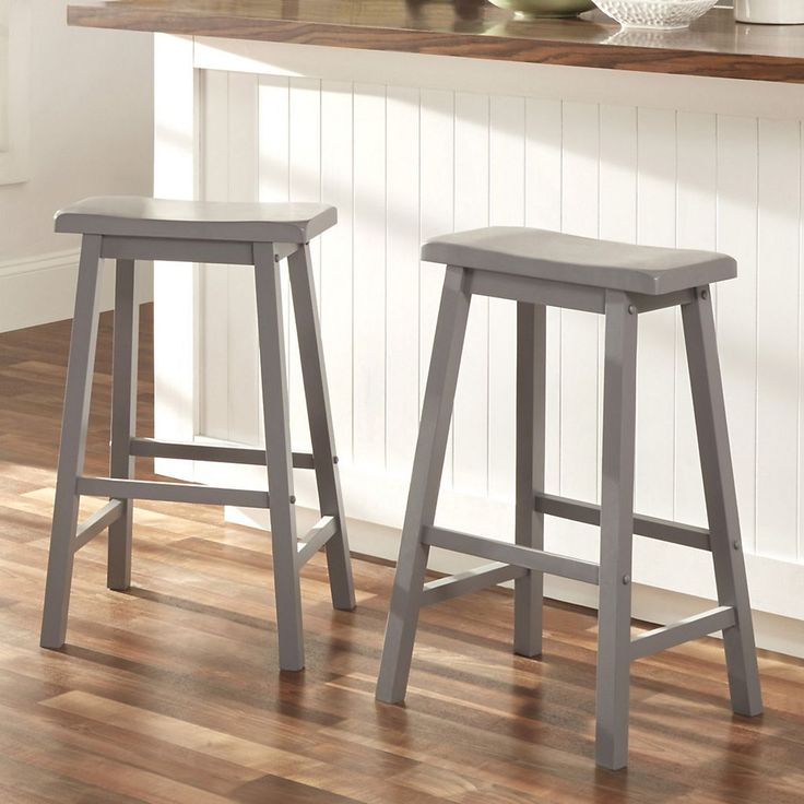 Elegant Saddle Bar Stool Covers