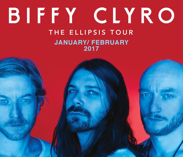 GoRockfest.Com: Biffy Clyro Tour Dates 2017