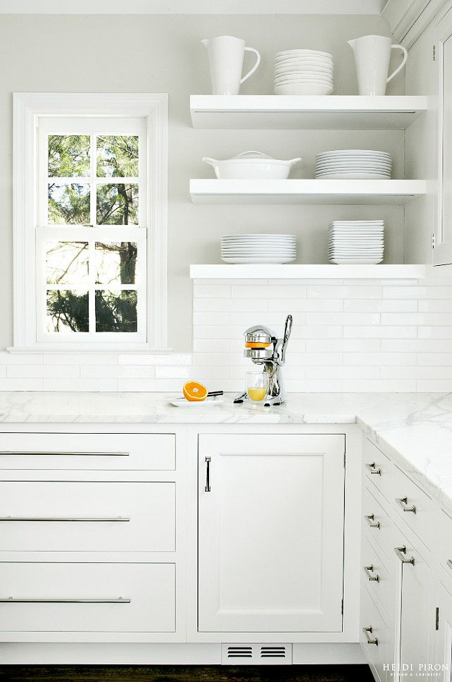 Modern Kids are off to College Get Busy with a Kitchen Remodel In 2019 - Simple white kitchen shelves Plan