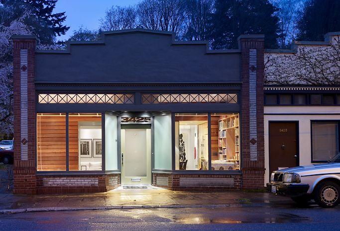 design adaptations reuse stores design livework storefront convers