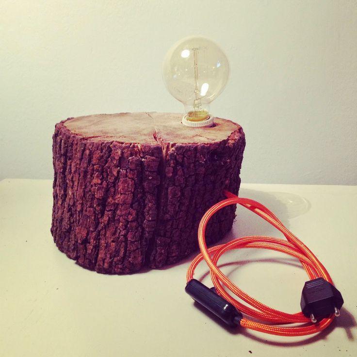 Lámparas de madera por RojoSillón