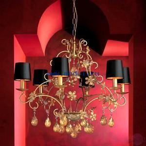 Светильники черного цвета для гостиной