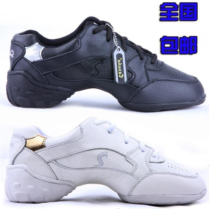 ( Не санша ) SM304 йога-аэробика танцевать обувь современный джаз танцевальные туфли лучше натуральной кожи кроссовки женщина
