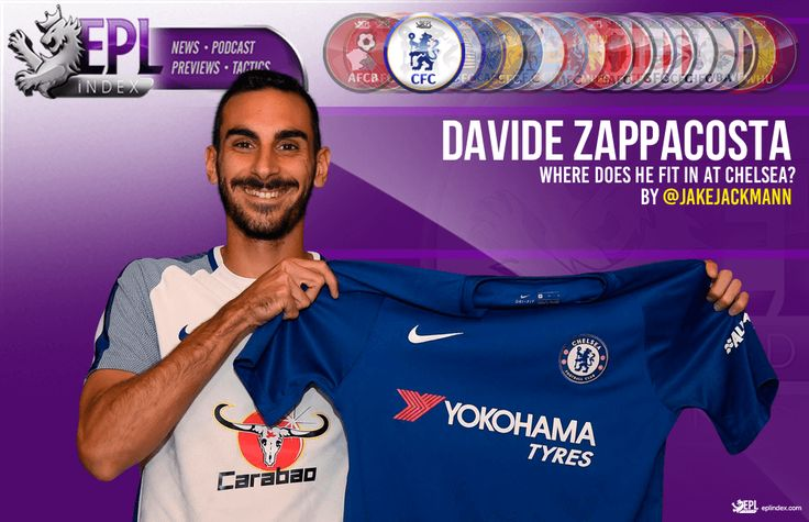 Where does Davide Zappacosta fit in at Chelsea - English Premier League Index - Opta Stats