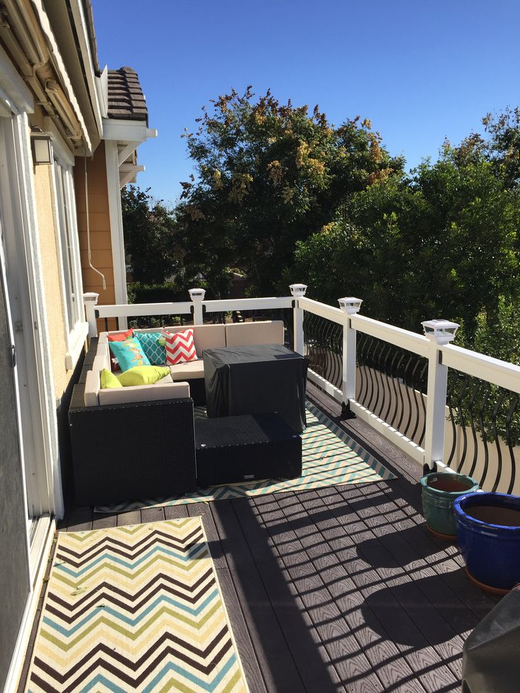 Lovely Deck and Balcony