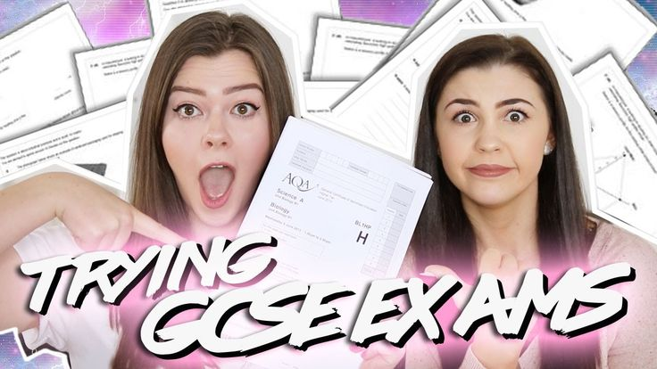 TRYING GCSE EXAMS WITH JUST JODES | LUCY WOOD