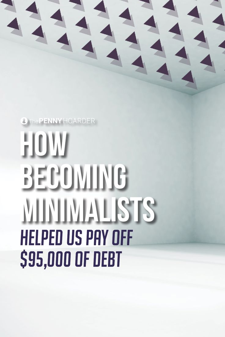 This couple tried an unconventional strategy to get out of debt: They decided to become minimalists. Here's how selling everything they owned and embracing minimalist living helped them pay off their debt.