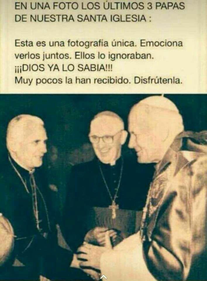 Benedicto XVI (Joseph Aloisius Ratzinger, abril 2005/febrero 2013). Francisco, de nombre secular Jorge Mario Bergoglio, es el 266.º y actual papa de la Iglesia católica.Juan Pablo II (Karol Jozef Wojtyla, octubre 1978/abril 2005). 26 años