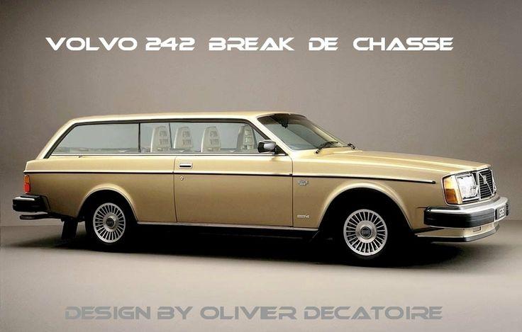 Volvo 242 Break De Chasse