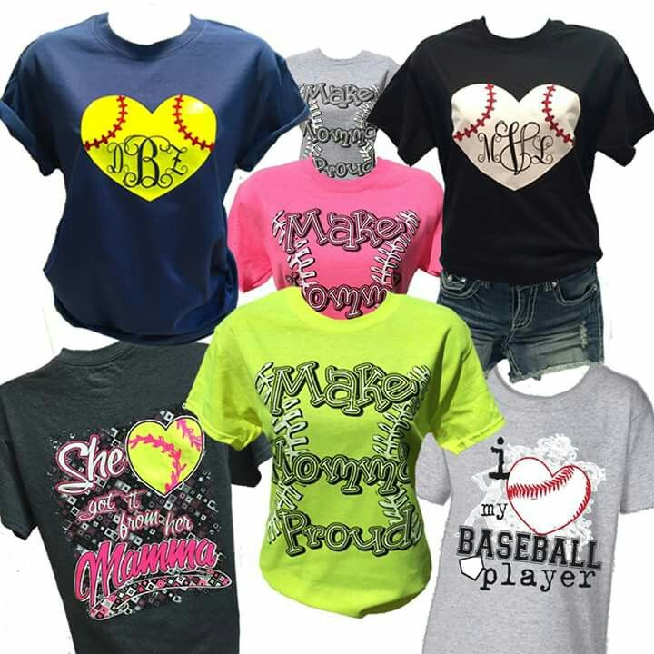 shirt ideas - Softball Jersey Design Ideas