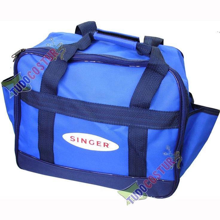 bolsa maleta máquina costura doméstica portátil singer