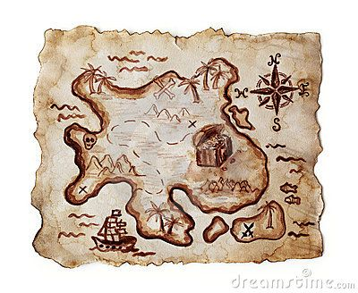 simple treasure maps vintage - photo #26
