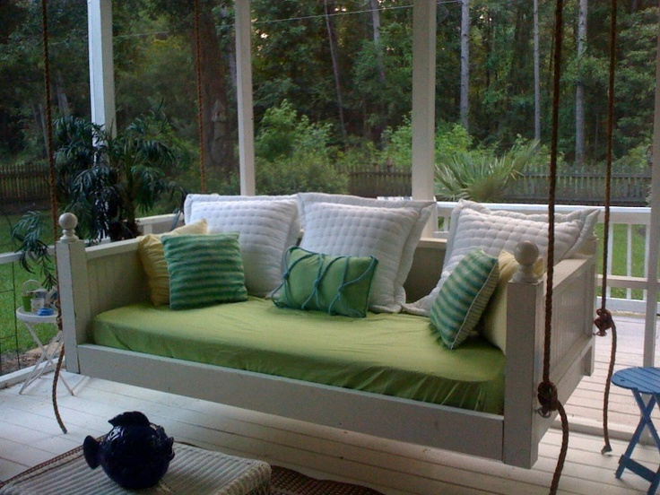 """Mmm, cozy """"cat bed."""" Vintage Porch SwingsCharleston, SC - Home Page"""