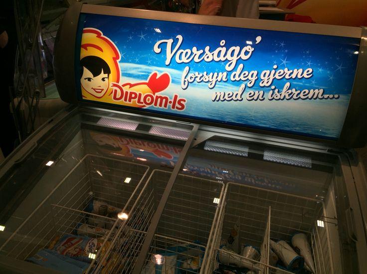 Sånn kunne man godt hatt flere steder. Butikkleverandørmessen på Norges Varemesse 2016.
