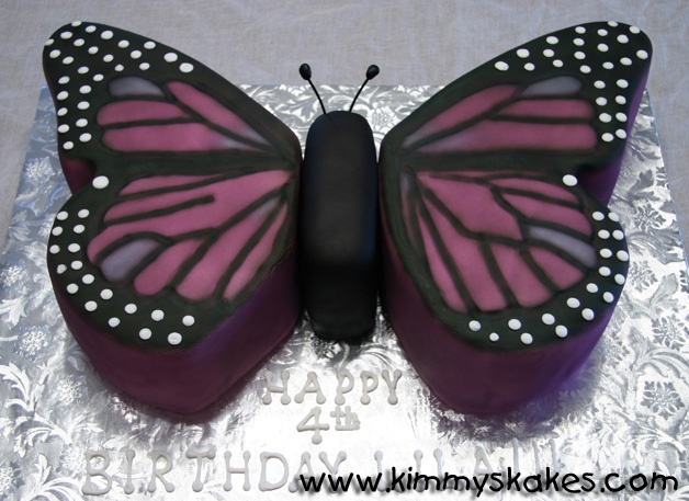 Butterfly cake - for my next birthday ;)