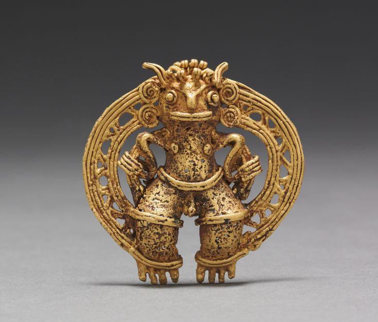 Aztec jewelry artifacts