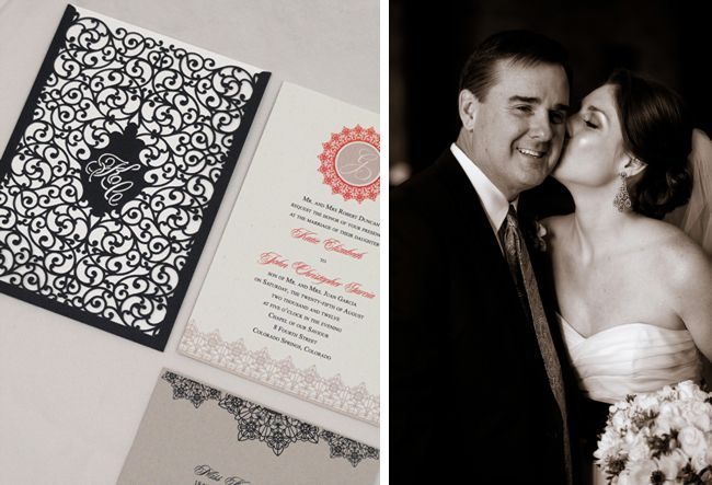 Eclectic Colorado Springs Wedding with Gorgeous Paper Details