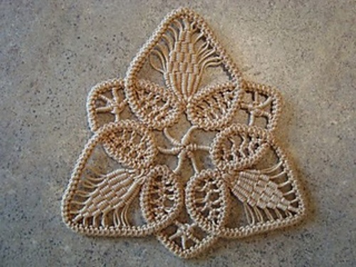 Romanian Point Lace Tutorial / Pattern