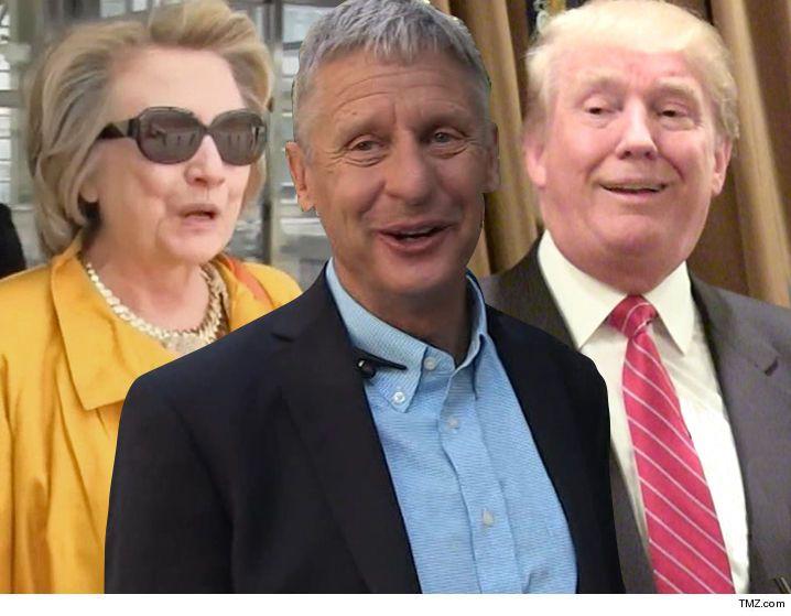 Gov. Gary Johnson -- Hey, Hillary Fans ... It's Not My Fault You Took An 'L' - http://blog.clairepeetz.com/gov-gary-johnson-hey-hillary-fans-its-not-my-fault-you-took-an-l/