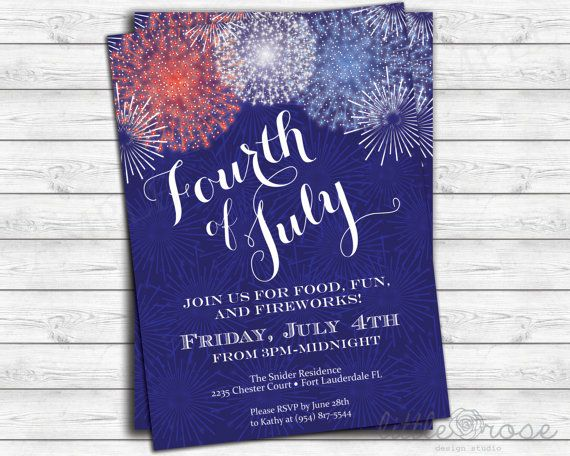 11 best labor day invitations images on pinterest party fourth of july party invitation 4th of july bbq memorial day invite labor stopboris Images