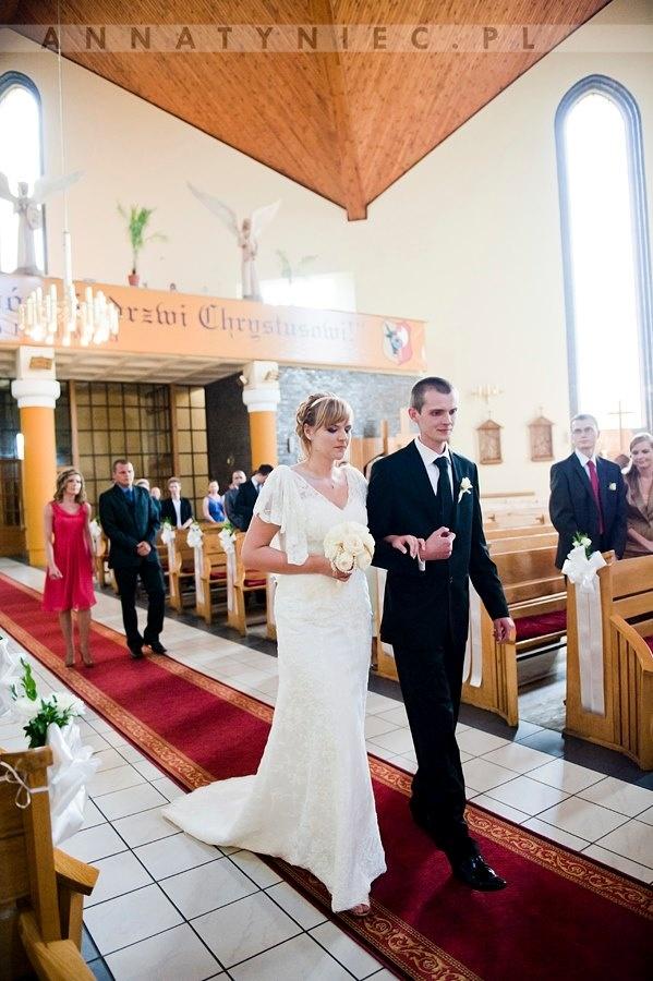 Ślub kościelny    Fotografia ślubna Wrocław, Anna Tyniec    https://www.facebook.com/AnnaTyniecFotografie