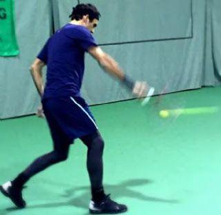 Blog Esportivo do Suíço: Federer faz o primeiro treino após artroscopia
