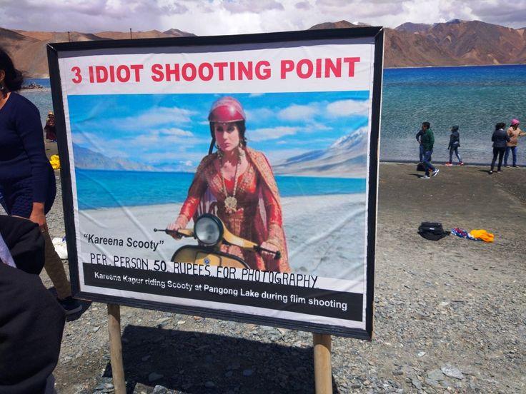 Popular movie '3 idiots' shooting point