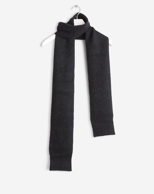 Cozy Thin Sleeve Scarf Black